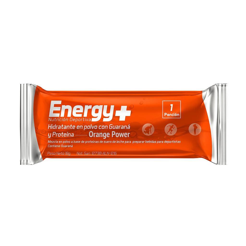 ENERGY PLUS HIDRATANTE NARANJA SOBRE 18g x 1 UNIDAD