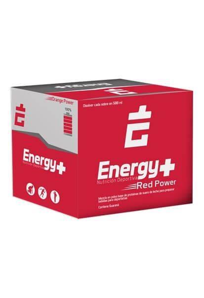ENERGY PLUS HIDRATANTE FRUTOS ROJOS CAJA x 30 SOBRES