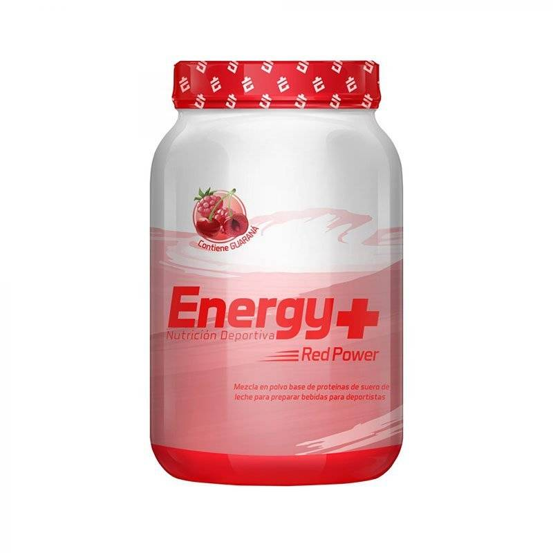 ENERGY PLUS HIDRATANTE FRUTOS ROJOS TARRO 540g