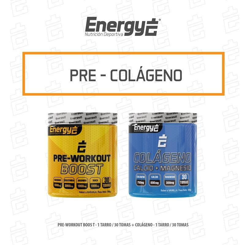 PACK PRE WORKOUT - COLAGENO