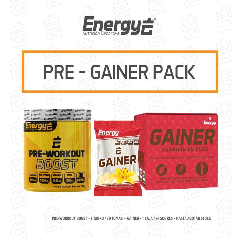 PACK PRE WORKOUT - GAINER