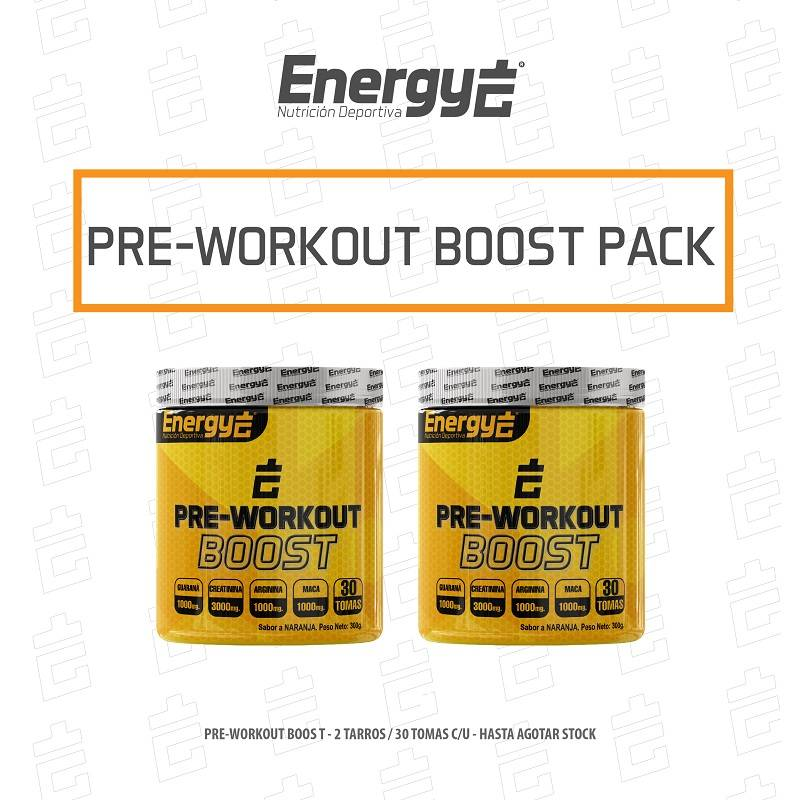 PACK  PRE - PRE WORKOUT BOOST