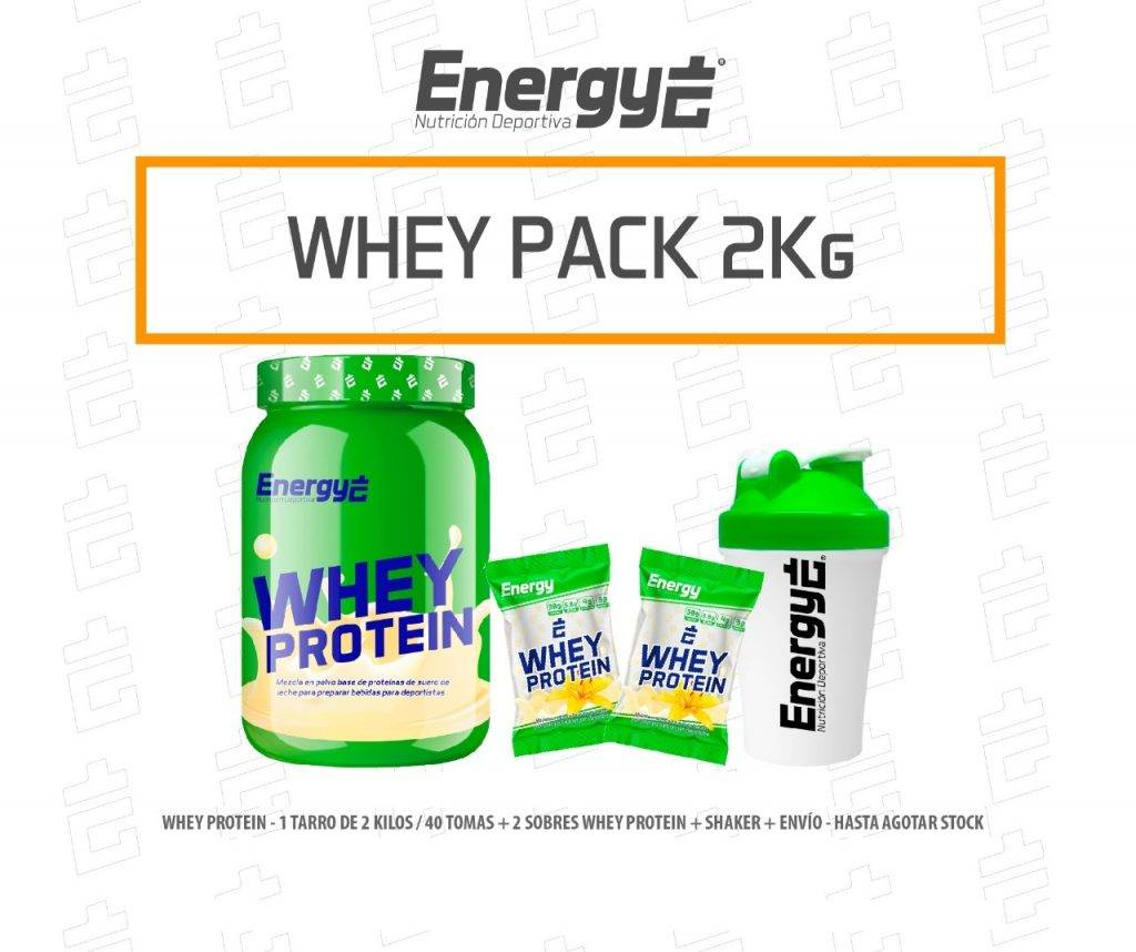 WHEY PROTEIN PACK 2Kg