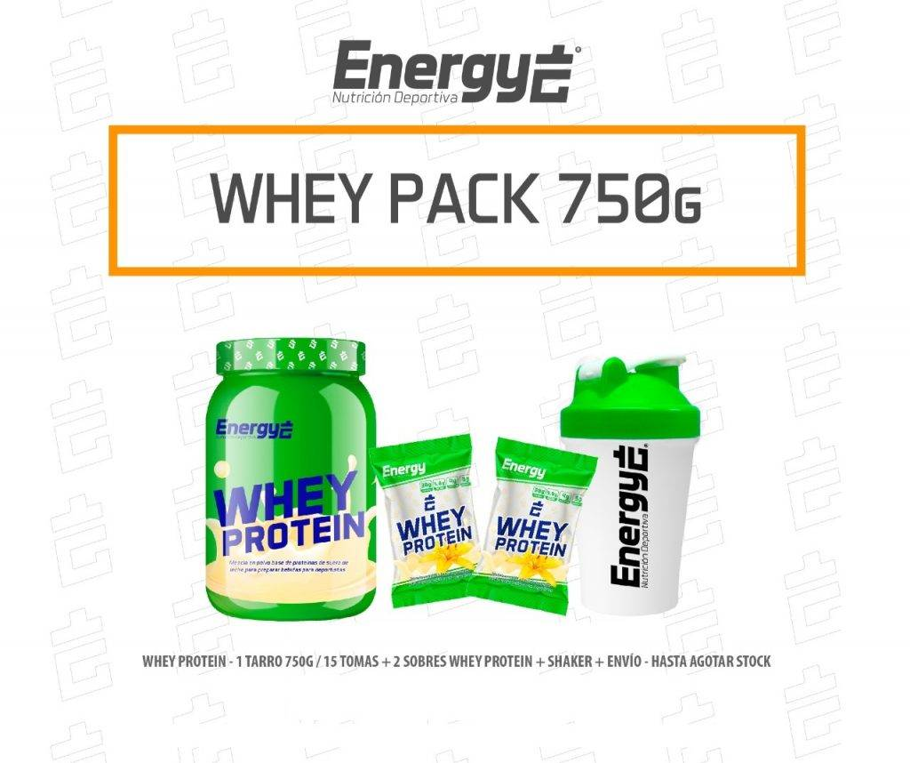 WHEY PROTEIN PACK 750g